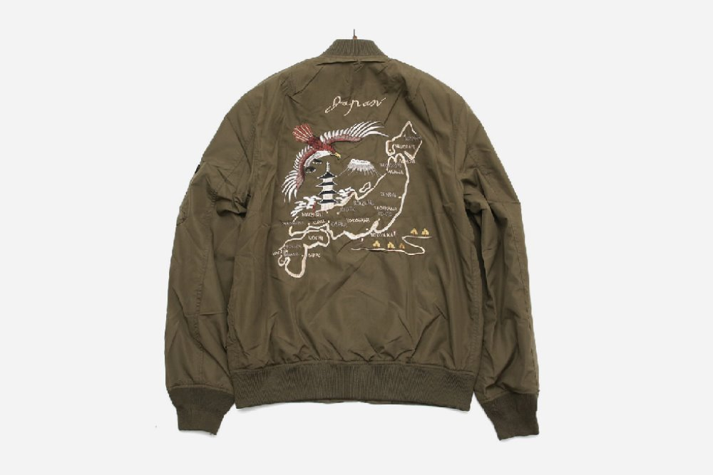 SALE ALPHA INDUSTRIES MA-1 JK 항공자켓