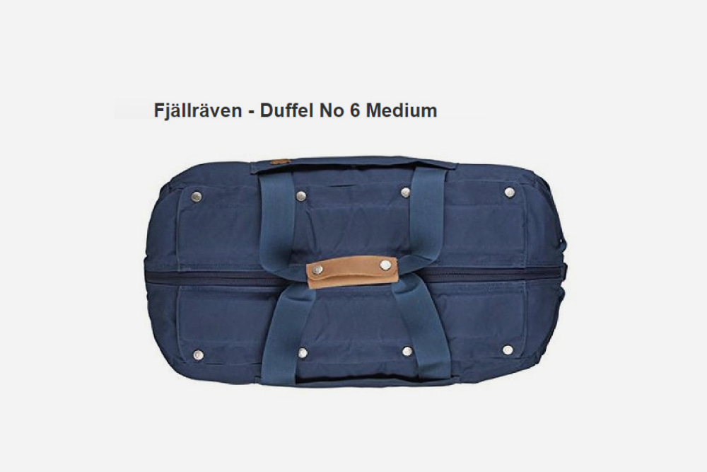 Fjällräven - Duffel No 6 Medium