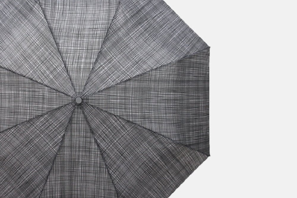 PARACHASE3108 Checked Auto Open & close umbrella