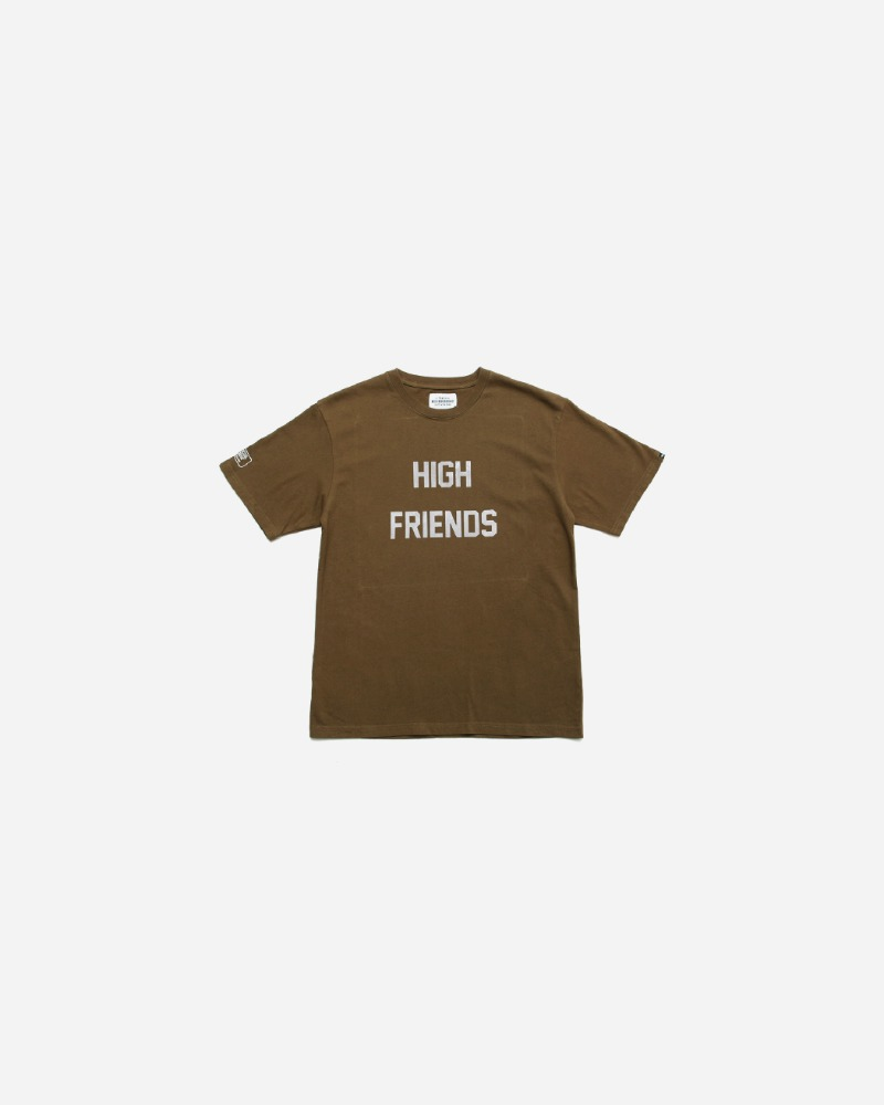 FUCT SSDD X NEIGHBORHOOD NHFU- 6 TEE - OLIVE