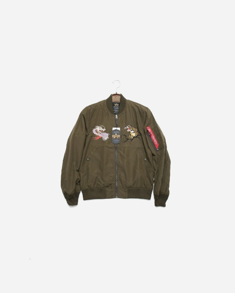 ALPHA INDUSTRIES MA-1 스카간 자켓