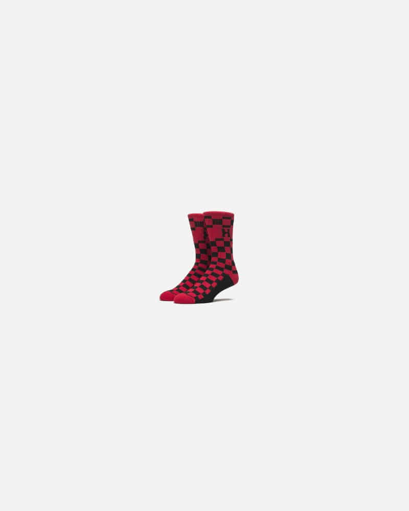 CHECKERED H CREW SOCK